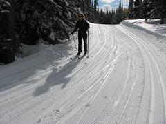 Sun Peaks Cross Country Skiing, 9-10 Feb 2008