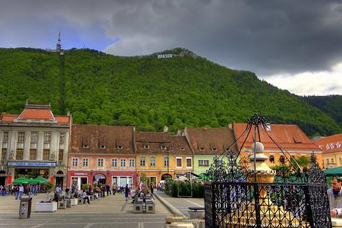 Plaza del Ayuntamiento de Brasov