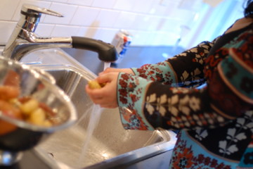 Pot Washing