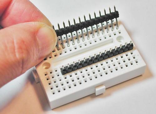 JeonLab mini v1.3 header solder prepare 1
