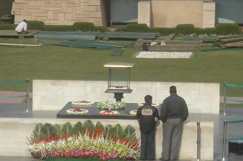 Raj Ghat甘地紀念碑1-10 永不熄之火