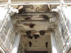 Honey Combs at the Ceiling of the Rajagopuram Entrance