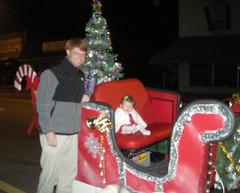 Brian, B in Santa's Sleigh