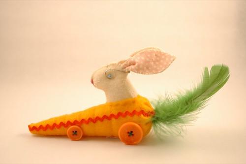 Kanin i bil