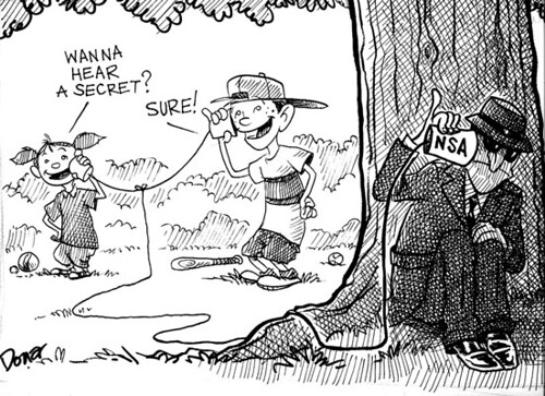 nsa wire tapping cartoon