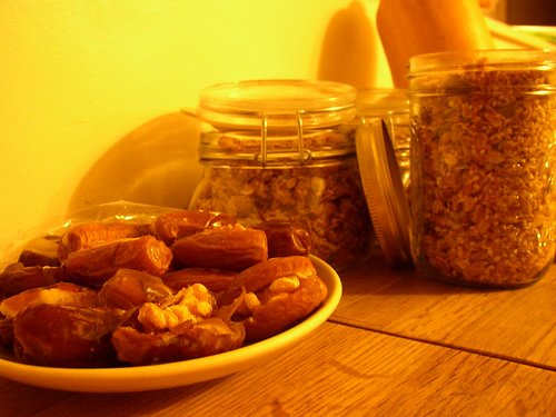 granola and date sweetmeats