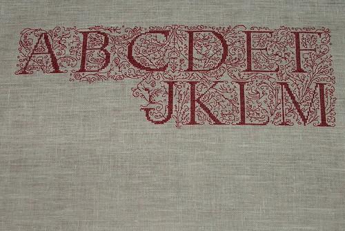 ABC Calligraphie Rouge