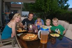 Breakfast for Dinner Outside