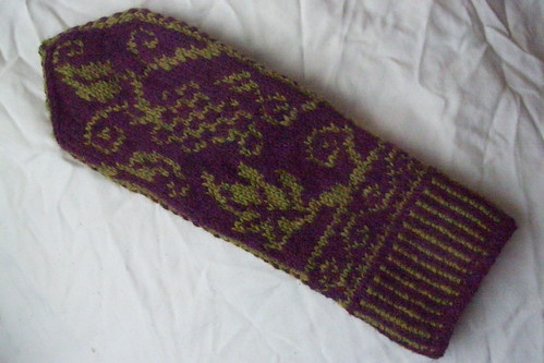 Icewine mitts - front