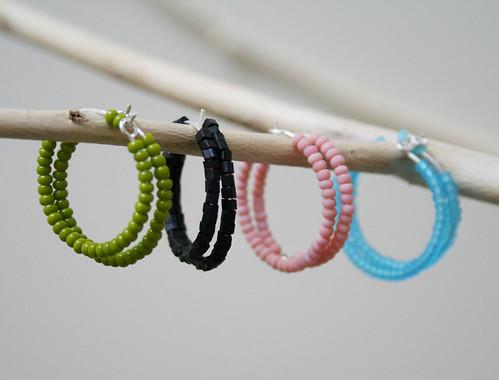 Eve - Hoop Earrings