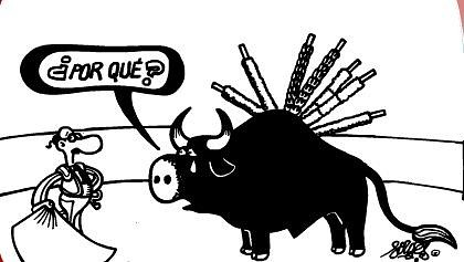 Chiste Forges Tortura Taurina.