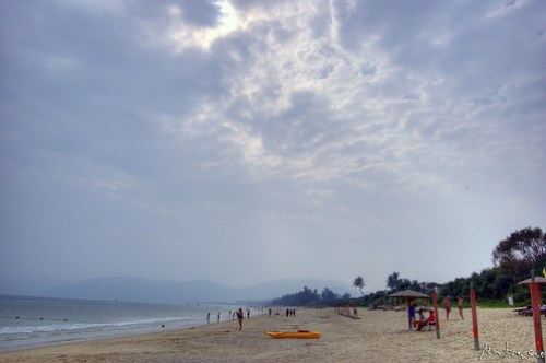 Sanya: Cloudy, But Warm!