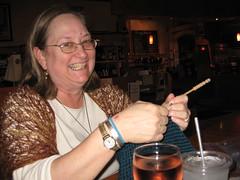 Jennifer Crocheting!!!