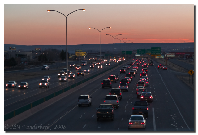 Rush Hour on the I-25