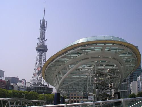 Oasis 21 and Nagoya TV Tower, 29th April 2008