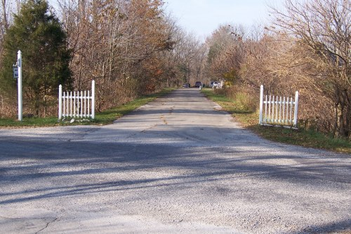 National Road/US 40 driveway
