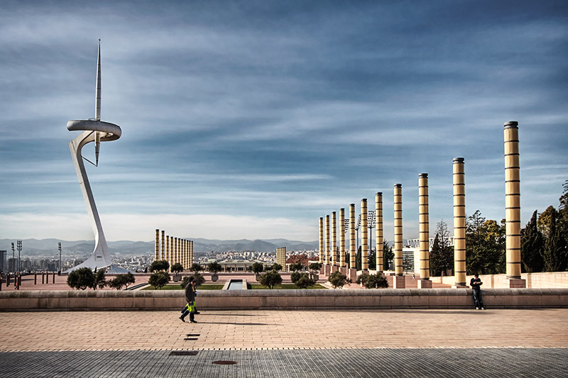 Barcelona's Olympic Site