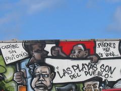 Los Piñones graffiti