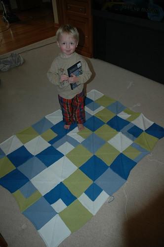 Mitered Blanket