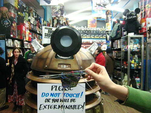 The Dalek Poses with ... (by Slice)