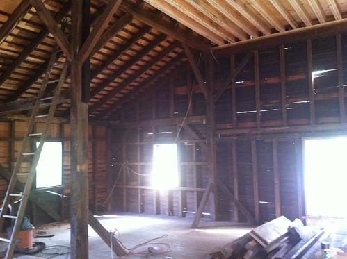 completed demolition.
