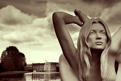 """Myth""(Sphinx) Sculpture"