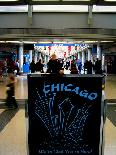 Hustle and bustle of ORD