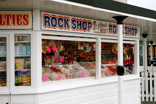 Rock Shop.