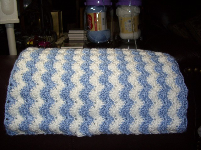 Pastel Waves Baby Blanket