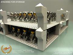 Lego Storage: Stacking