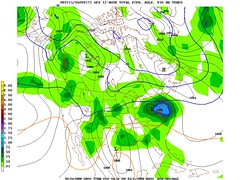 Tue 11 Mar gfs