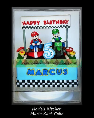 Norie's Kitchen - Mario Kart Cake