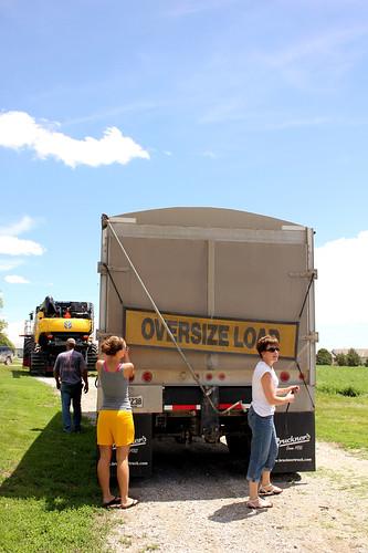 Oversize load.