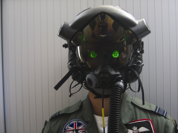 F-35 Joint Strike Fighter developmental pilot helmet