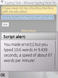 Fast typing 3