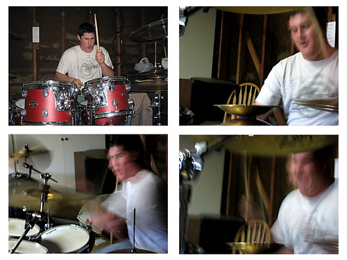 The faces of drumming