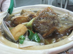 Claypot Fish-King fire seafood(Relau)