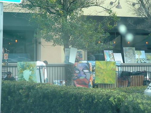 Art display at Urban Flats