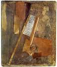 Vladimir Tatlin. Relief (metal sobre madera). 1914.