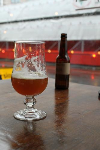 Beer. Always better inside.