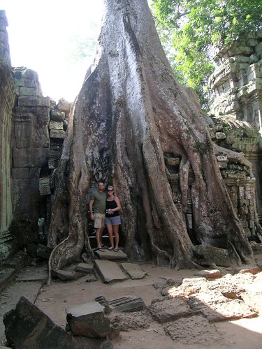 Ta Prohm - Cena and I