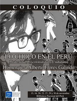Lo cholo en el Perú