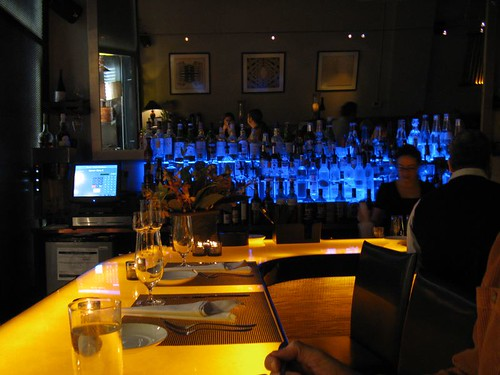 chef's bar at Sel Gris