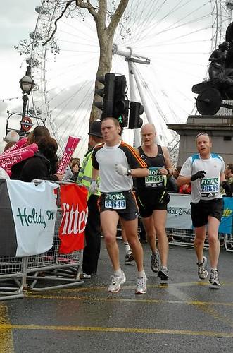 London Marathon - Mile 25