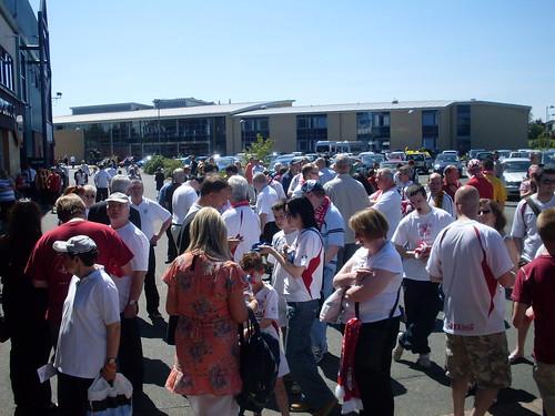 Clydebank fans