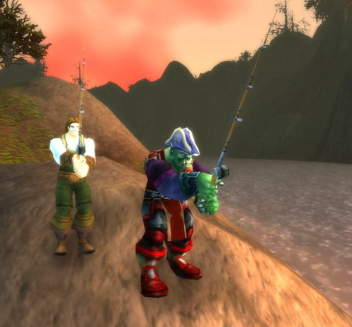 Fishing in World of Warcraft, by Captain Oblivious on Flickr Creative Commons