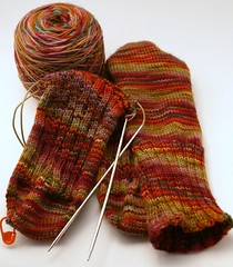 New Years Socks - Sockamania KAL January pattern