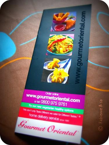 Gourmet f%*# oriental