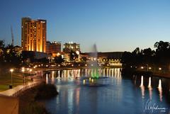Adelaide Skyline at dusk