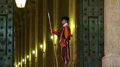 Guarda Suiça no Vaticano